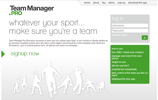 Team Manager Pro